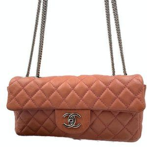 Authentic Chanel CC Flap in Pink SHW